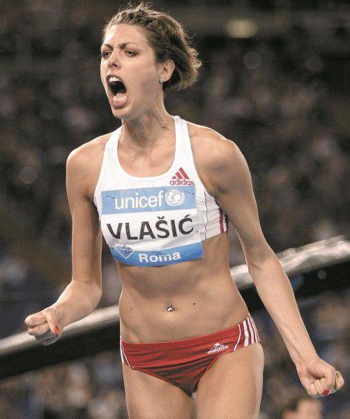 Hochspringerin Blanka Vlasic ist wieder fit. Foto: ap