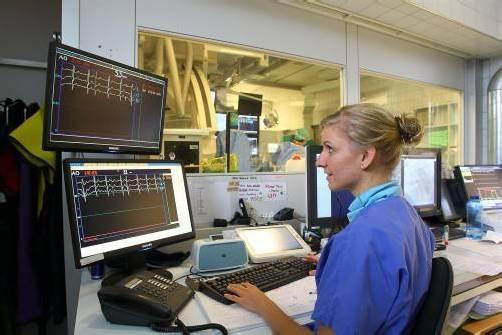 Im Herzkatheterlabor des Landeskrankenhauses Feldkirch sind seit Kurzem auch deutsche Kardiologen zugange. Foto: vn/hofmeister