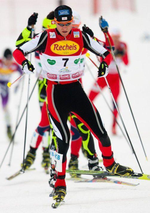 In der vergangenen Saison landete Bernhard Gruber im Gesamt-Weltcup auf dem vierten Rang, diesen Winter will er unter die Top 3. Foto: apa