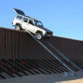 Schmuggler bauten Rampe