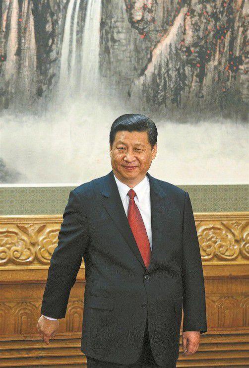 Jinping: Neuer Vorsitzender der Kommunistischen Partei. Foto: AP