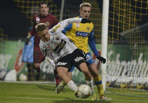 Julian Erhart, der einen Treffer erzielte, zählte gegen seinen Ex-Klub zu den besten Altachern. Foto: stiplovsek