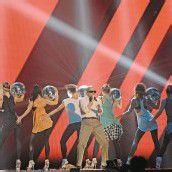 MTV Europe Music Awards in Frankfurt vor Millionen von Fernsehzuschauern