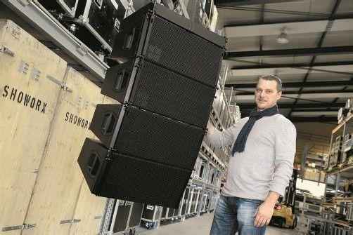 Karg setzt auf hochwertiges Equipment, wie die Box aus der v-Serie von d&b audiotechnik. Foto: vn/stiplovsek