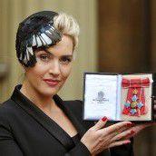 Kate Winslet von Queen geehrt