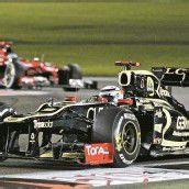 Vettel bei Räikkönen-Sieg stark