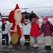 Weihnachts-Kinderfliegen