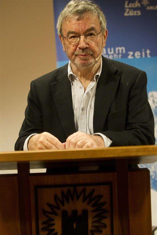 Martin Pollack eröffnete gestern den Mediengipfel in Lech. VN/KH