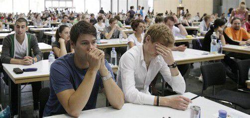 Mediziner müssen vor dem Studium zum Eignungstest. Foto: APA