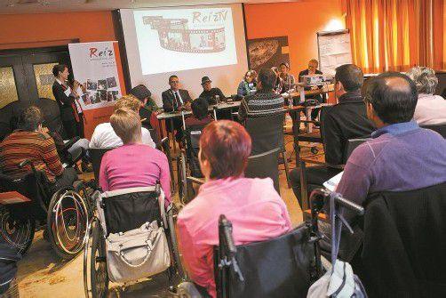 Menschen mit Behinderung artikulierten mutig ihre Forderungen. VN/sp