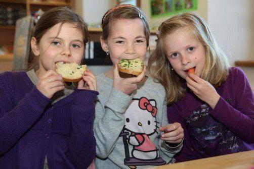 Mit frisch gekochtem Essen soll Kindern eine Wertschätzung für Lebensmittel vermittelt werden. Foto: symbolbild