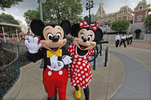 Mit seinen Freizeitparks machte Walt Disney zuletzt gute Kasse. Foto: EPA