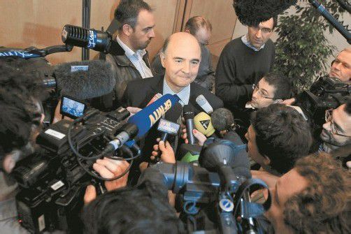 """Moscovici: """"Rating bestärkt französischen Reformkurs."""" Foto: REUTERS"""