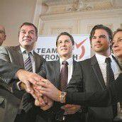 Team Stronach sitzt im Nationalrat