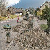 Straßenzug in Bludenz bald hell erleuchtet
