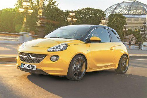 Opel will mit dem schicken Stadt-Flitzer Adam richtig durchstarten. Zu den Händlern kommt der Kleine Anfang 2013. Fotos: werk