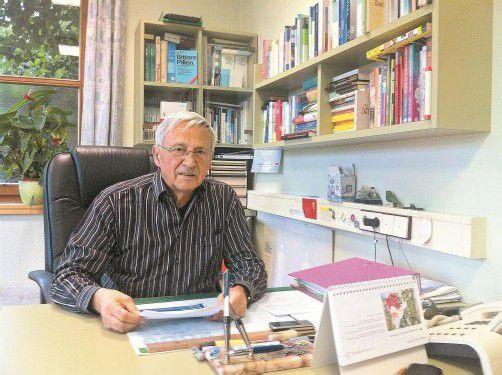 Paul Gmeiner hob als praktischer Arzt vor 30 Jahren den Sozialsprengel in Hard aus der Taufe. Foto: VN/Matt