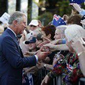 Prinz Charles und Ehefrau Camilla erobern Australien