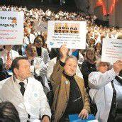 Auch Vorarlberger Ärzte gegen Sparmaßnahmen