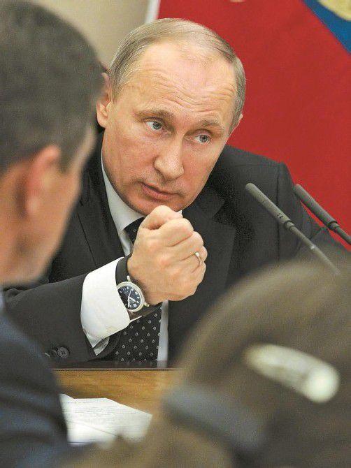 Putin greift durch: Hilfsorganisationen fürchten Gesetz. Foto: AP