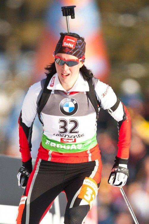 Startet in der Mixed-Staffel: Ramona Schrempf. Foto: apa