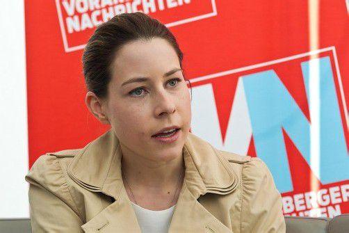 Stefanie Walser, Vorsitzende der Jungen Wirtschaft, begrüßt die GmbH-Reform. Foto: VN/Steurer