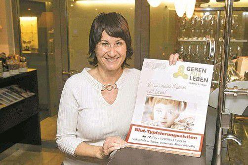 Susanne Marosch hofft für morgen auf viele Blutspender.  foto: VN/Paulitsch