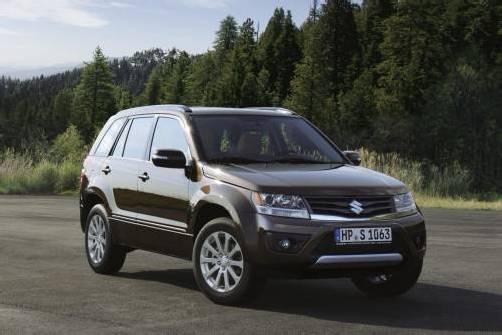 Suzuki wertet mit einem Facelift den Grand Vitara auf. Foto: werk