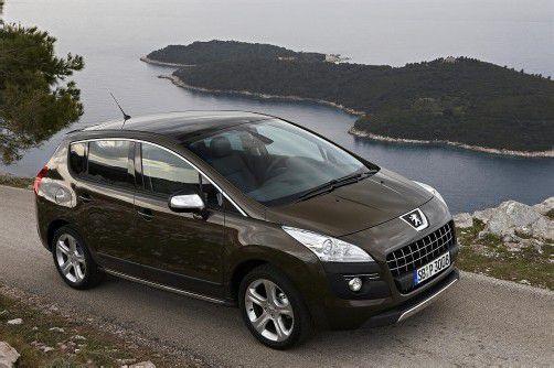 Technisch aufgewerteter Peugeot 3008. Foto: werk