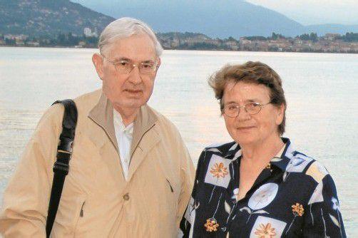 Theresia und Beda Widmer genießen einen harmonischen Lebensabend und blicken auf ein erfülltes Lebens zurück.