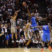 Parker warf die Spurs mit der Sirene zum Sieg