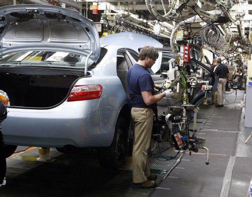 Toyota dürfte heuer wieder zum Weltmarktführer aufsteigen.