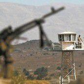 Israel feuert auf Syrien