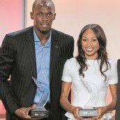 Welt-Leichtathleten 2012 heißen Bolt und Felix