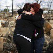 Nach Sandy Dutzende Tote und Milliardenschäden