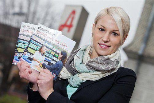 Vorarlberger Apothekenführer 2013: Alle wichtigen Infos im handlichen Kleinformat. Foto: vn/steurer