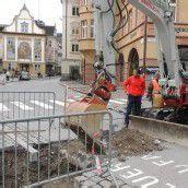 Kanalarbeiten in Bregenz bis 22. November