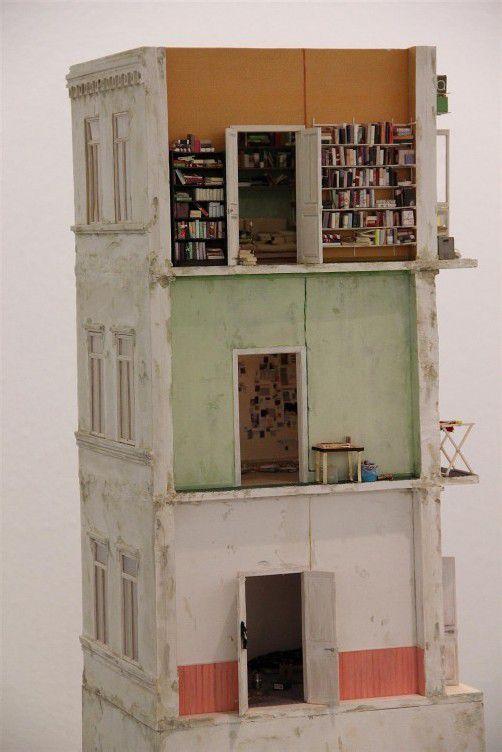 Weit entfernt von Puppenhäusern: Arbeit von Judith Saupper. Foto: AG