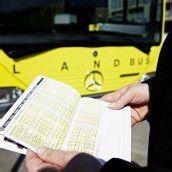 Landbus muss Verkehrslinie streichen