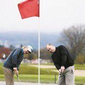 Der Golfball faszinierte mehr als die Gummischeibe