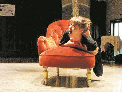 """Zu seinem erfolgreichen """"Faust I"""" lieferte das Landestheater noch """"Faust fällt aus"""". Foto: VLT"""