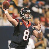 Matt Schaub warf 527 Yards