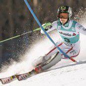 Zettel mit Sieg im Slalom