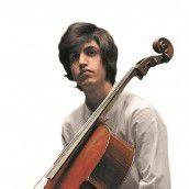Meistercellist Kian Soltani spielt für Ma hilft /D4