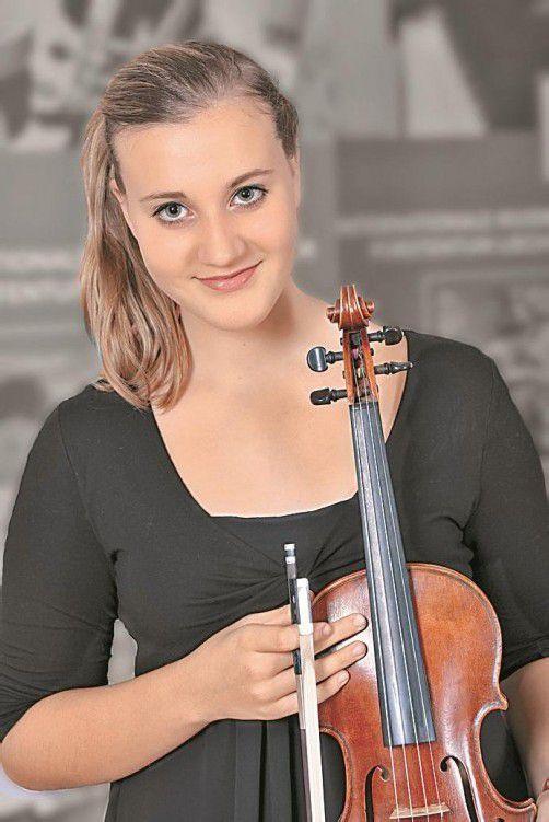 Eine der Gala-Solistinnen: Sara Domjanic. Foto: Domjanic