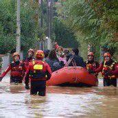 Hochwasser in Norditalien