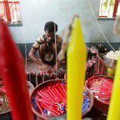 Kerzen für das indische Lichterfest