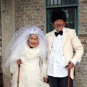 Erstes Hochzeitsfoto nach 88 Ehejahren