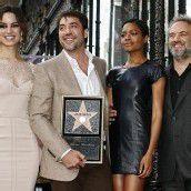 Bardem erhält Stern auf Walk of Fame