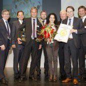 Goldene Tanne für Dietmar Brunner